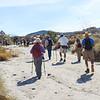 Walking up Pinyon Wash