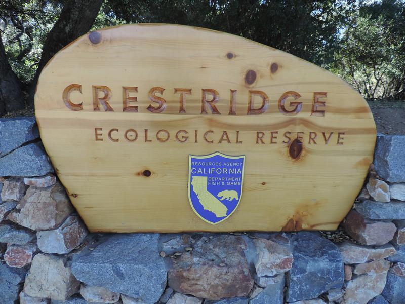 Crestridge - Horsemill Rd Entrance