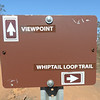 Whiptail Trail Sign