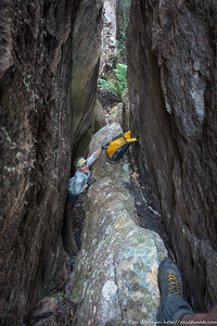 Scrambling down the one drop in the slot