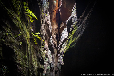 Canyon formation