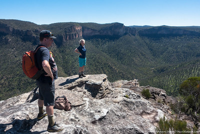 Fine views at walls Lookout