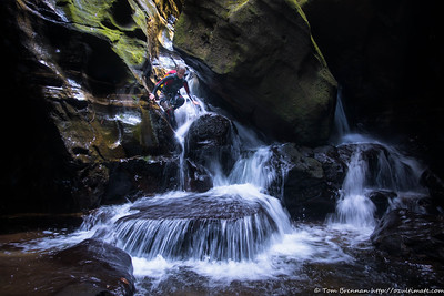 Waterfall scramble