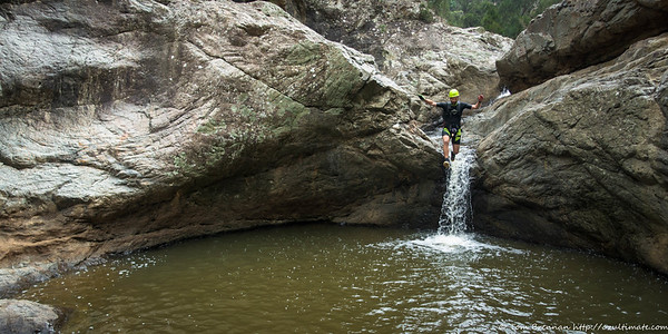 James jumping
