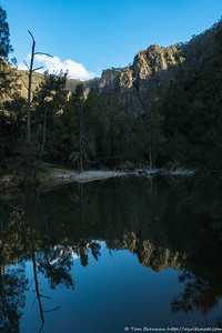Reflections of Bungonia Creek