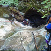 "Canyoning in the Falls of Acharn, near Kenmore in Perthshire, Scotland. <a href=""http://canyoning.co.uk"">http://canyoning.co.uk</a>"
