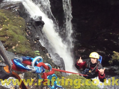 Canyoning the Birks of Aberfeldy in Perthshire, Scotland with Splash. http://rafting.co.uk