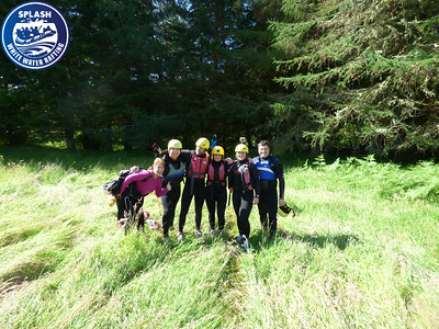 Canyoning Scotland with Splash