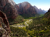 Zion Valley from Angel's Landing trail P1100803