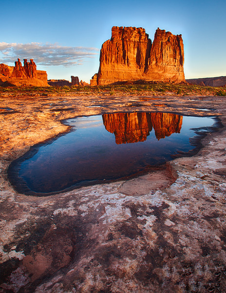 Courthouse Towers, Arches Natl. Park