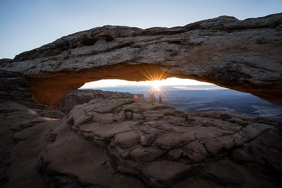 Sunrise under Mesa Arch, Canyonlands N.P.