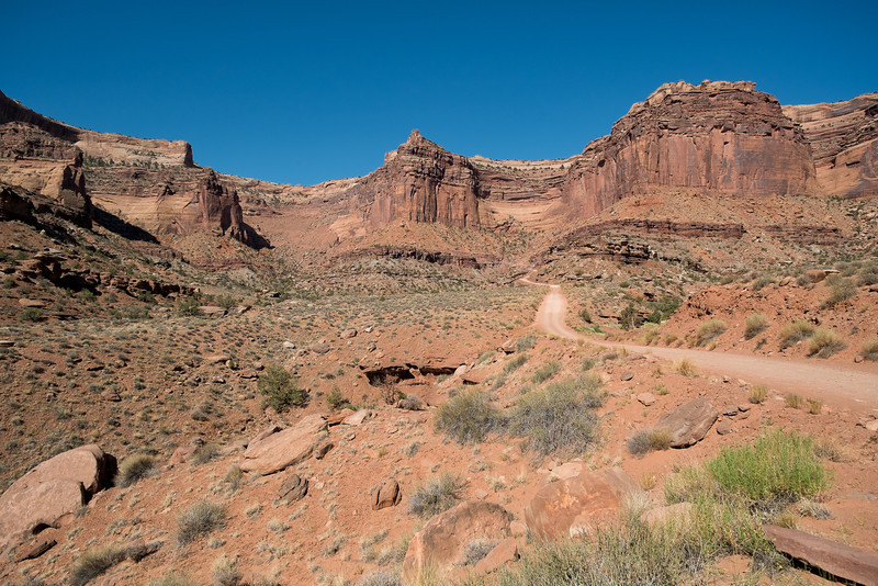 Shafer Canyon Road<br /> Canyonlands NP