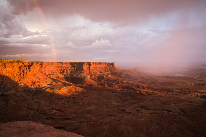 Canyonlands NP<br /> From the Green River overlook