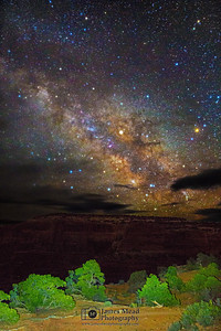 """""""Starry Canyon,"""" The Milky Way over Canyonlands National Park, Utah"""