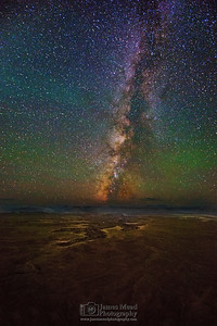 The Milky Way over the Green River and Stillwater Canyon, Canyonlands National Park