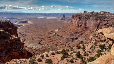 Grand View Overlook in the Island in the Sky District, Canyonlands N.P.