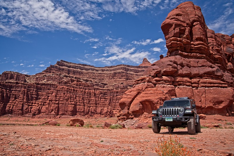 Shafer Trail Jeep Outing