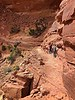 False Kiva Trail Ledge