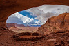 """False Kiva Anasazi Indian Ruin"""