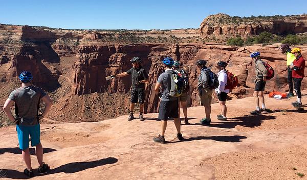 Canyonlands White Rim Mt Biking 4-10 to 4-16, 2016