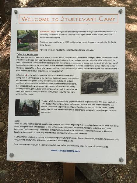 Sturtevant Camp Information