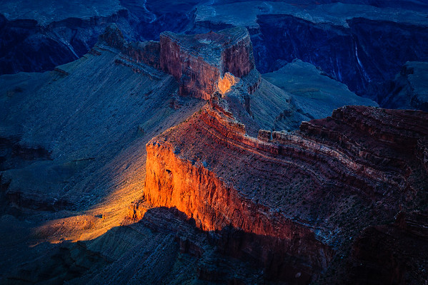 Chasm Glow, Mohave Point