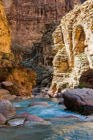 Havasu Creek Rapids