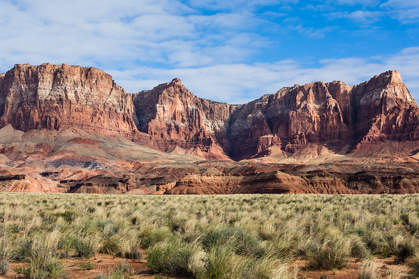 Morning Light on the Vermillion Cliffs
