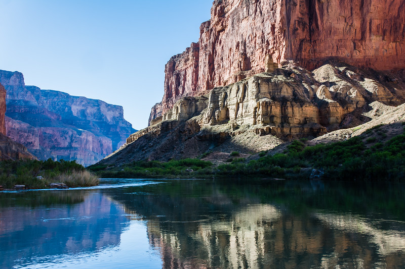 Canyon Morning Reflections