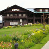 Front view of Glacier Park Lodge.
