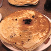 "Nothing like real Huckleberry Flapjacks. This was the ""small"" serving."
