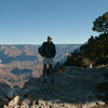 Hiking along the South Rim