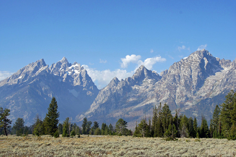 10/01/11: The Cathedral Group, Grand Teton National Park.