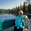 Getting ready to cross Jenny Lake.