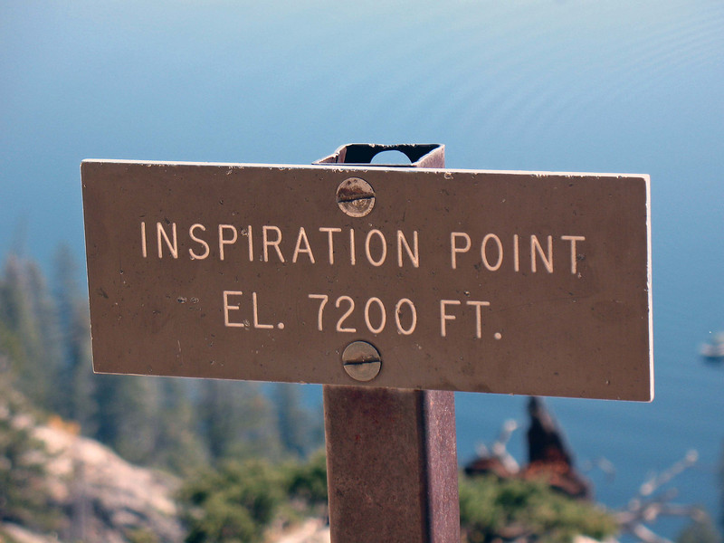 Summit of Inspiration Point.
