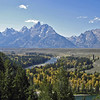 09/25/11: Teton Range from Snake River Overlook.