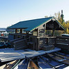 Waiting for the Jenny Lake Boat Dock to open for the first ferry.
