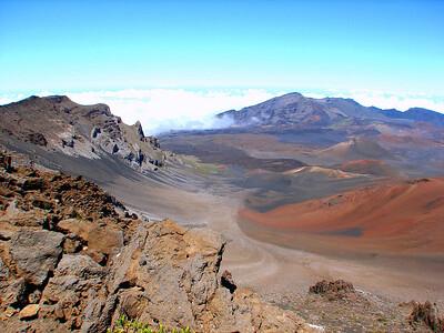 The Halekala National Park sprawls over 28,655 acres of geologically diverse land.