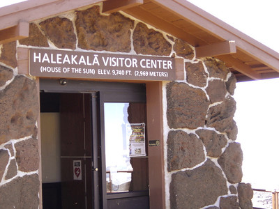 Haleakala Visitor Center.