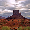09/25/12: The floor of Monument Valley sits at 5,564 ft. above sea level. The Park extends into Arizona and Utah, with approx.91,696 acres.