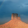 09/24/12: This is a view of the iconic West Mitten Butte.