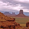 "09/25/12: Another view of the Monument Valley landscape taken from the ""North Window."""