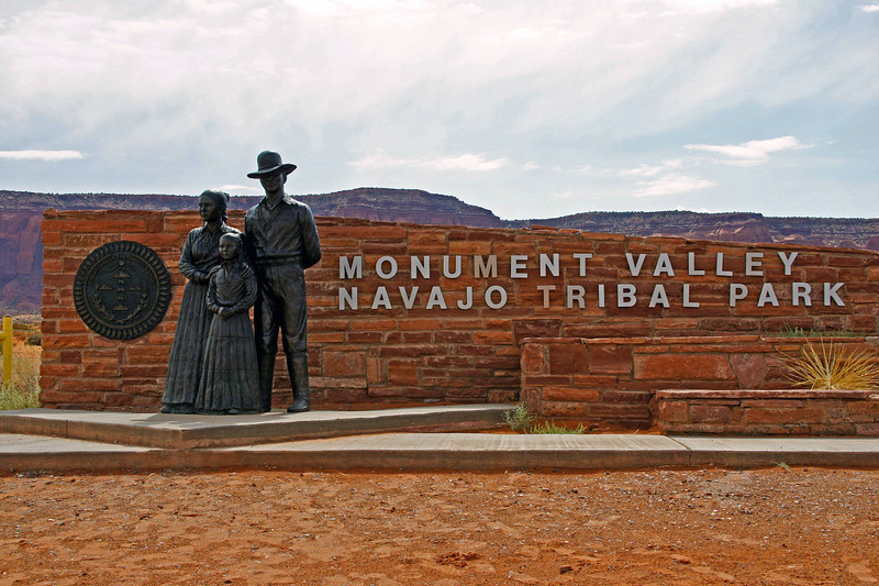 09/25/12: Monument Valley, located on the border of northeastern Arizona and southeastern Utah, is a Navajo Tribal Park, that preserves scenic values and the Navajo way of life.