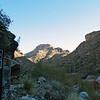 A view facing up-canyon.