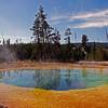 09/30/11: Morning Glory Pool.