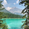 08/08/17: Emerald Lake is located in Yoho National Park, British Columbia, Canada. It is the largest lake within Yoho National Park. The vivid turquoise color of the water is caused by powdered limestone as the snow melts from the surrounding mountains.