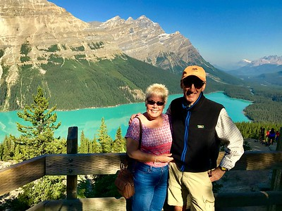 08/10/17: A picture in front of Peyto Lake.