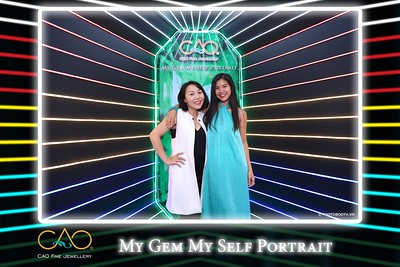 CAO Fine Jewelery | My Gem My Self Portrait instant print photo booth | Chụp ảnh lấy hình Sự kiện tại TP. Hồ Chí Minh | Photobooth Saigon