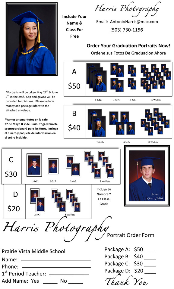 Microsoft Word - Harris Photography order form.dot