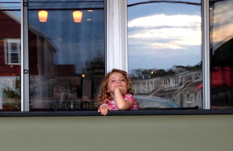 Laine Waiting at Mac's